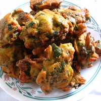 Thumb vegetable pakora